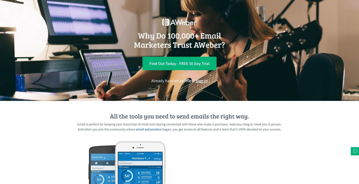 A List of the Top Email Marketing Tools for Small Business