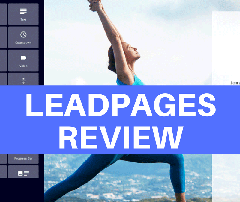 LeadPages Review: Want to convert those visitors to customers? Use LeadPages