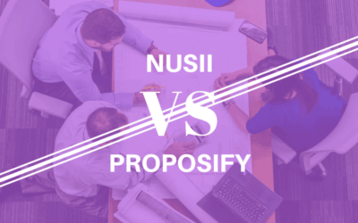 Nusii vs Proposify – A Brief Comparison of 10 Key Features