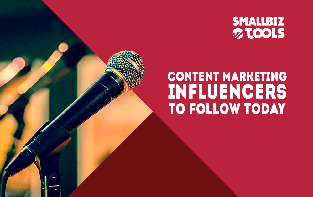Content Marketing Influencers To Follow Today