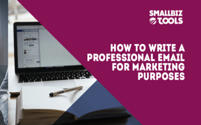 How To Write A Professional Email For Marketing Purposes