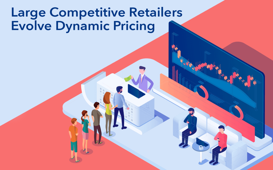 Large Competitive Retailers Evolve Dynamic Pricing