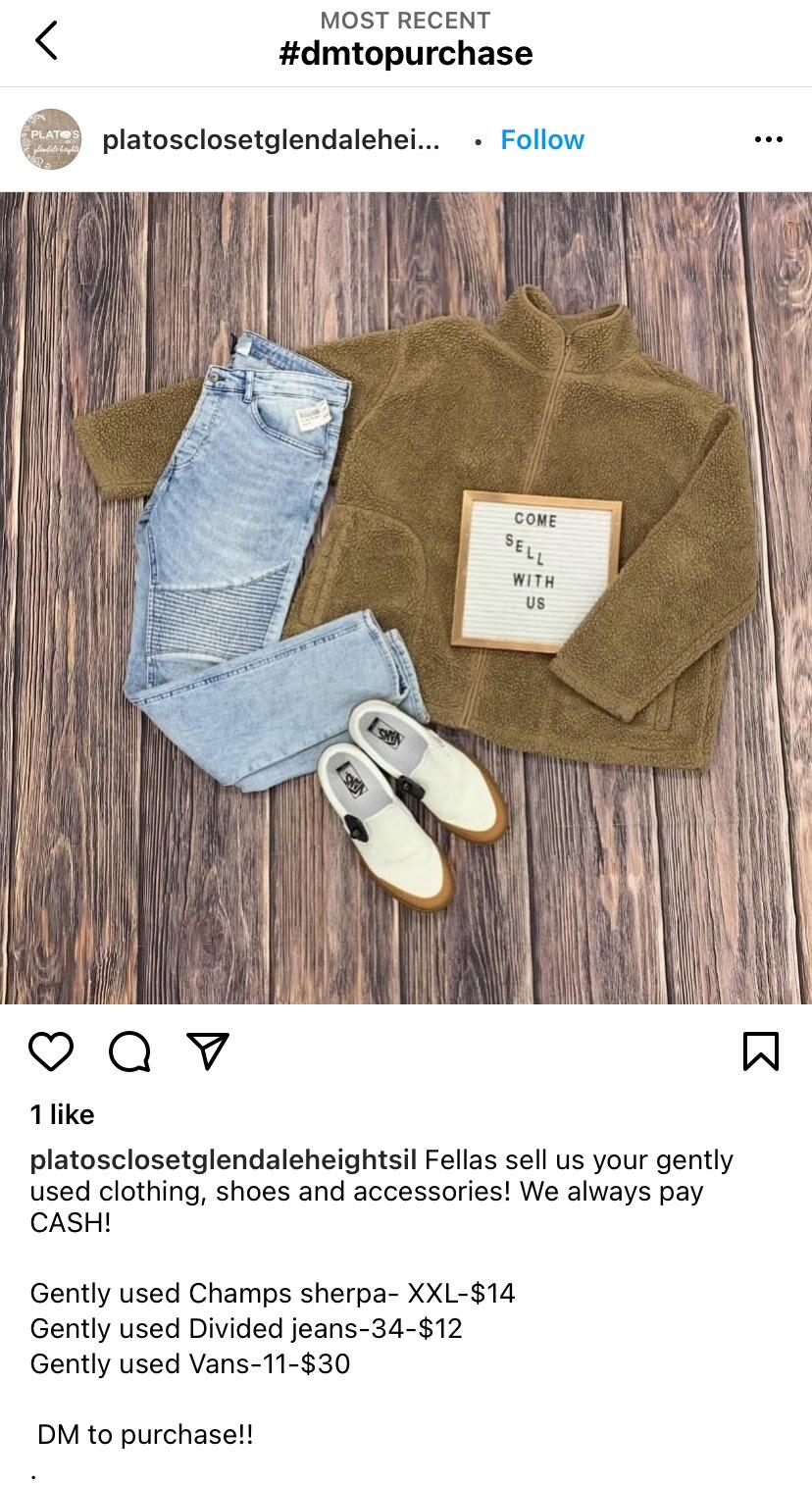 CTA for Instagram DM Selling