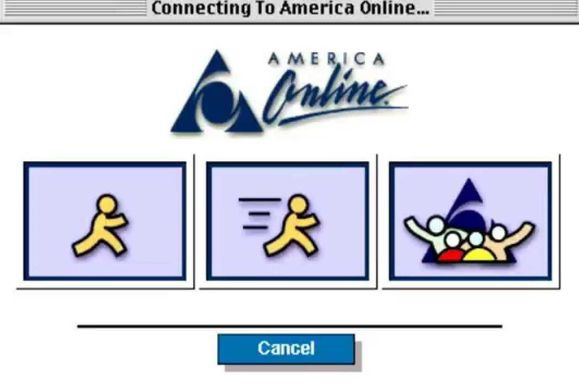 American online dialup