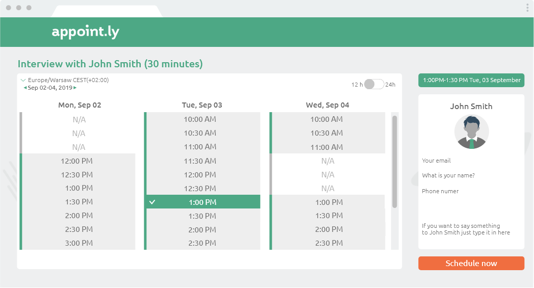 appointly calendly alternative